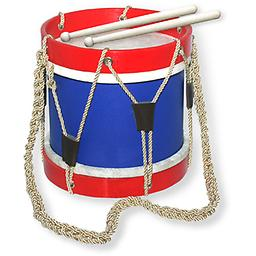 "Trophy Music Company Patriotic ''1776'' Drum This patriotic ""1776"" drum by Trophy music is a great little drum to practice on."