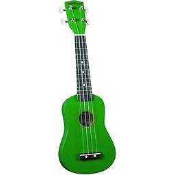 Diamond Head Soprano Ukulele Green Join the fun and get your very own Diamond Head Soprano Ukulele. This Ukulele features careful workmanship and fantastic tone for an entry level instrument