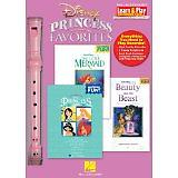 Disney Princess Favorites with Little Mermaid/Beauty and The Beast - Learn And Play Recorder Package This cool pack contains a high-quality recorder plus three terrific Recorder Fun, books loaded with 16 huge Disney hits