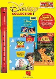 Disney Collection with Disney Favorites/Toy Story - Learn and Play Recorder Pack This cool pack contains a high-quality recorder plus three terrific Recorder Fun, books loaded with 16 huge Disney hits