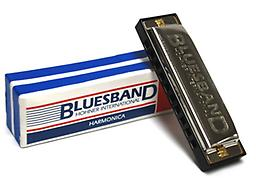 Hohner Blues Band Harmonica The Hohner Blues Band harmonica is a good quality, very inexpensive diatonic instrument. This harmonica is great for children and beginners of any age.