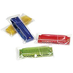 Hohner Translucent Harmonica Colorful and great sounding! The harmonica is a great way to start kids learning about blues music and beyond while having fun creating their own unique sounds.