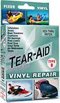 Tear-Aid Type B For the repair of vinyl or vinyl coated items only.