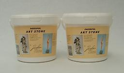 Paverpol Art Stone in 300 and NEW 1250 gram buckets Art Stone is a paper-based powder used to create beautiful stone effects.