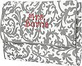 Grey Floral Computer Sleeve - Keep your computer safe & stylish!