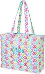 Peace Tote Bag - Travel in style!