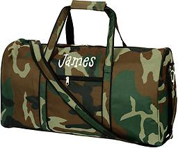 Camo Large Duffel Travel in style!