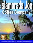 Islamorada Joe - Premium beans roasted in small batches for optimal flavor. The best coffee in town