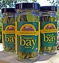 Bottle of Bay Laurel Leaves, 0.14 oz - Fresh California bay leaves are essential to Mediterranean cooking and can be used in any other cuisine. Add flavor to your dishes and aroma to your household with this spice!
