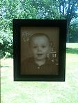 01- Custom Lithophane Display - Your photo is carved into an 8X10 lithophane and housed in our custom lighted display frame.