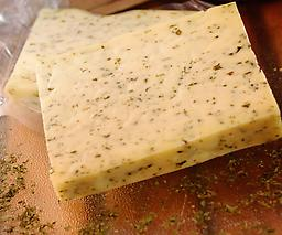 Garden Herb Using a mix of chives, onions, and other garden herbs, this cheese is full of flavor.