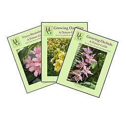 Books: Hawaii-Gardener How-to Gardening Guides Full color and fully illustrated step-by-step guides to growing daylilies, orchids and vireya rhododendrons in your garden. Buy all 3 books and get them for as little as $11.50 each.