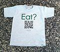 Kids Eat Crew Neck T-Shirt - 100% Cotton Kids T-Shirt
