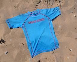 Ducksday Summer Rashguard - Storm Rider Short-Sleeved Available in long or short (3/4) sleeves, Ducksday rashguards are soft, suitable for salt or chlorinated water, and provide protection from harmful UV rays.