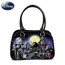 Tim Burton 039 S The Nightmare Before Christmas Glowing Handbag A First Fabric