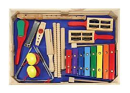 Beginner Band Set Strike up the band! This colorful set of instruments will have kids making beautiful noise with enthusiasm in no time.
