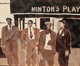 Minton's Playhouse (Prints Only) Acrylic on Canvas, prints