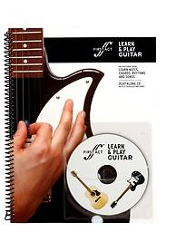 First Act Learn and Play Guitar Book and Audio Learn to play! The First Act Learn & Play Guitar Method comes with 32 pages of instruction with easy-to-learn melodies and chords.
