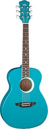 Aurora Borealis 3/4 Guitar Teal The Teal Aurora guitar is an affordable, well-designed student guitar, with good tone & intonation, that's easy to play