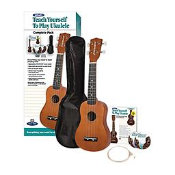 Alfred Teach Yourself to Play Ukulele Complete Starter Pack Alfred's Teach Yourself to Play Ukulele, Complete Starter Pack: Everything You Need to Start Playing Now!