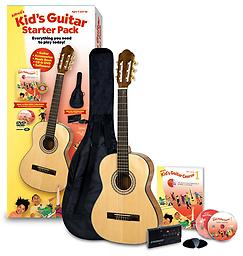 Alfred's Kid's Guitar Course, Complete Starter Pack From Alfred Music Publishing, the worldwide leader in music education products since 1922, comes Alfred's Kid's Guitar Starter Pack: Everything You Need to Play Today!