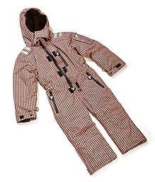 """Ducksday Ski Suit (Houndstooth) One-piece ski suits for kids on the move! Sizing hint: DucKsday SkiSuits run true-to-age (for a """"average"""" sized child), but a little bit """"taller"""" than other DucKsday gear :)"""