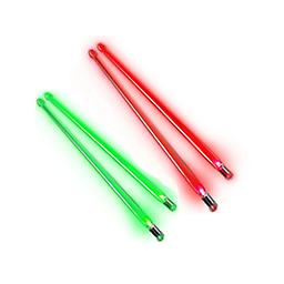Christmas Lighted Drumstick Set This package of green and red lighted drumsticks is super fun for everyone!