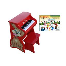 Christmas Piano Package This versatile little piano grows with your child! The main unit, decorated with a little Puppy dog, is perfect for toddlers. - Package includes My First Piano Adventure® Christmas Book A