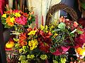 Designer's Choice - Let our expert designer choose the very freshest and most beautiful array of fall flowers to adorn your holiday table with.