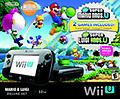 WII U DELUXE NEW MARIO & LUIGI SET - BRAND NEW WII U MARIO AND LUIGI SET