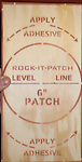 """6"""" Patch Kit - This 6"""" Patch Kit is great for repairing small drywall holes. Please see the how to video on our website showing this kit in use."""