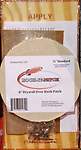 """6"""" Patch Door Knob Patch Kit - This 6"""" Door Knob Patch Kit is great for repairing drywall holes left by door knobs behind doors. Please see the how to video on our website showing this kit in use."""