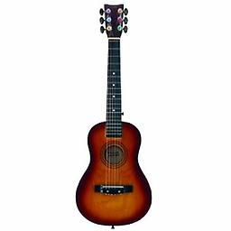 First Act Acoustic Guitar, Sunburst Start strumming with a First Act Discovery Acoustic Guitar. It's a perfect beginning guitar, and it's sized and outfitted for smaller players. Kids will feel encouraged and excited about playing music
