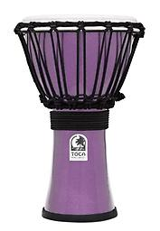 Violet Colorsound Djembe Toca Freestyle ColorSound Djembes are great for players of all ages. Perfect for musical students and educators, but ideal for any percussionist!