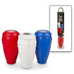 Conga Shaker Trio by LP Percussion The LP Conga Shaker set includes three shakers, each featuring a unique fill formulation allowing them to produce different volume levels