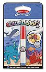 "Sea Life Colorblast Book - ON the GO Travel Activity - Use the ""Magic"" pen to color in the sea life picture, and see vibrant colors, details, and patterns appear!"