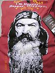Duck Dynasty Pillow I'm Happy... - Pillow for you or your pet