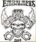 Embalmers Hat Pin - Limited Edition Embalmers Hat Pin