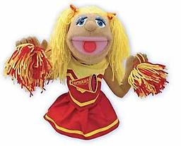 Cheerleader Puppet - Melissa and Doug Puppets It's easy to root for your favorite team with Megan Pompomovich, on your squad!