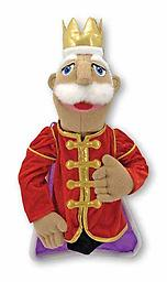 King Puppet - Melissa and Doug Puppets King Carl Castlehoff IV will reign over many royal adventures when brought to life by your puppeteer!