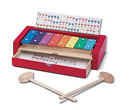 Learn to Play Xylophone More than an instrument, this first xylophone set is a child's best introduction to music!