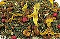 Apple Pear Tulsi 2 oz. - Tulsi has been used for many years to bring health. This combination with apple and pear bits makes an enjoyable brew. Try a little honey, if desired, for added health benefits. Good hot or iced.