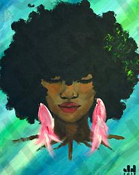 Sista Nature (Prints Only) Acrylic on Canvas, prints