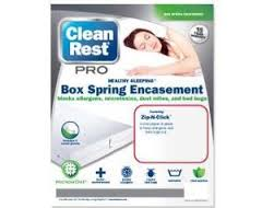 Bed Bugs Box Spring Encasement Clark Pest Remedy