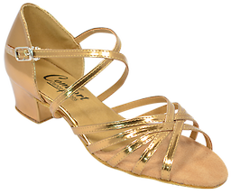 Comfort Ladies Strappy Sandals Most popular West Coast Swing dance shoe for ladies. Price includes 10% sales tax.