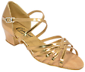 Comfort Ladies Strappy Sandals - Most popular West Coast Swing dance shoe for ladies.