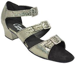 Comfort Ladies Triple Buckle Sandals This swing shoe has 3 soft wide straps.