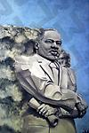 Martin Luther King Jr. Memorial - Oil on Canvas, 36x24