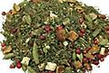 Orange Spice Tulsi 2 oz. - Tulsi with orange and ginger. A delightful blend of tulsi, green rooibos, spices, and orange. Drink daily for great health benefits.