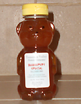 BEEKEEPERS SPECIAL HONEY BEAR, 24 OZ - Pure raw honey